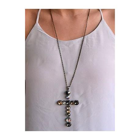 Collar forma de cruz