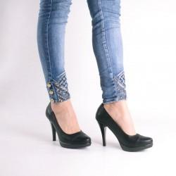 Zapatos Reina negro