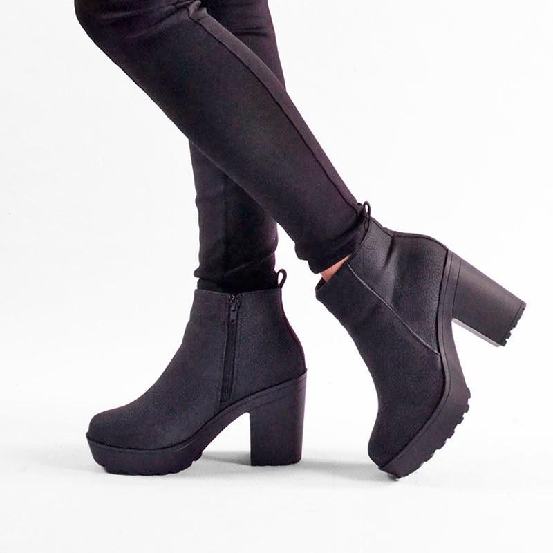 comprar popular 0ddd0 d699b Botin de invierno color negro - Grupofertas