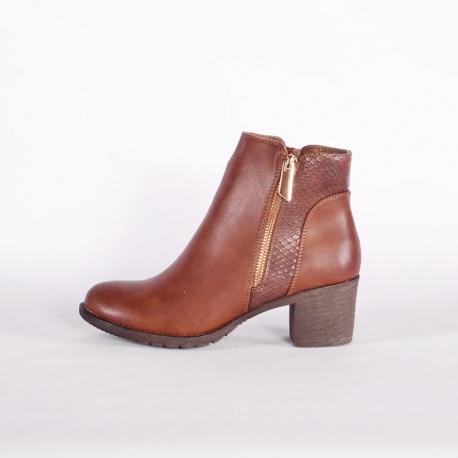 Botines con taco- Compra zapatos de mujer