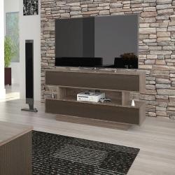 Rack para tv con puertas