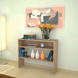 Mesa de Arrimo color beige