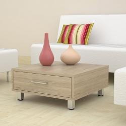 Mesa de centro color beige