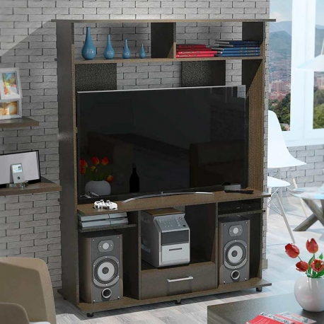 Rack para TV y música
