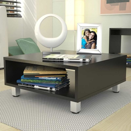 Mesa de centro color negro