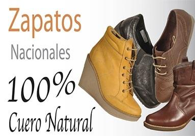 Zapatos de cuero natural